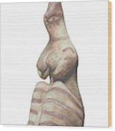 Venus Of Tel Haraf Wood Print