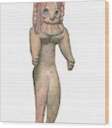 Venus Of The Indus Valley Wood Print