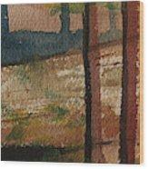 Vertical Path Wood Print