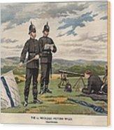 Victoria Rifles Wood Print
