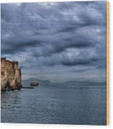 View Of Castel Dell Ovo  Wood Print