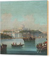 View Of Istanbul - 1 Wood Print