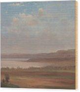 View Of Lake Pepin, Minnesota, 1862 Wood Print