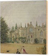 View Of Strawberry Hill Middlesex Wood Print