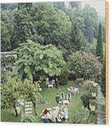 Villa Cipriani Wood Print