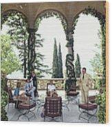 Villa Del Balbianello Wood Print