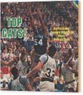 Villanova University Ed Pinckney, 1985 Ncaa National Sports Illustrated Cover Wood Print