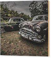 Vintage Cars Goshen Nh Wood Print