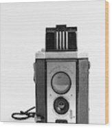 Vintage Eastman Kodak Brownie Reflex Synchro Model Film Camera Wood Print