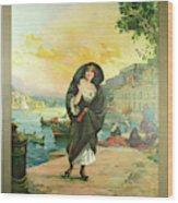 Vintage Poster - Malta Wood Print