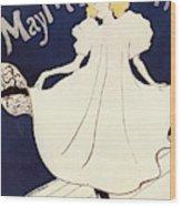 Vintage Poster - May Milton Wood Print