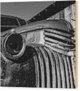 Vintage Truck Jerome Arizona Wood Print
