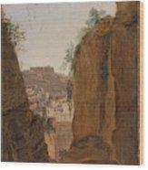 Virgil S Tomb  Naples  Wood Print
