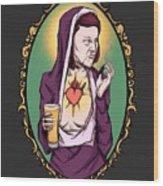 Virgin Meredith Wood Print