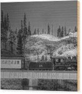 Virginia Truckee Railroad Wood Print