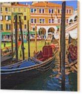 Visions Of Venice Wood Print
