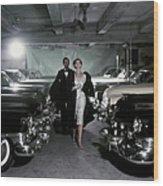Vogue 1952 Wood Print