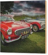 Volvo P1800 Classic Car Wood Print