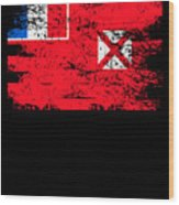 Wallis Futuna Shirt Gift Country Flag Patriotic Travel Oceania Light Wood Print