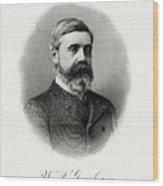 Walter Q. Gresham Wood Print