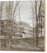 Walter Reed General Hospital Dec. 2, 1924 Wood Print
