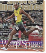 Warp Speed 2012 Summer Olympics Sports Illustrated Cover Wood Print
