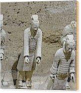 Warriors Of Pit 2, Xian, China Wood Print