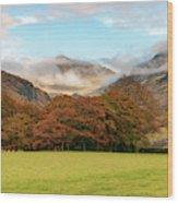 Wasdale Wood Print