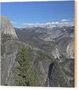 Washburn Point, Yosemite Np Wood Print