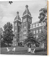 Washington And Jefferson College Old Main Wood Print