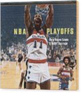 Washington Bullets Elvin Hayes, 1978 Nba Eastern Conference Sports Illustrated Cover Wood Print