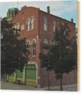 Washington Fire Company - Conshohocken Pennsylvania Wood Print
