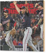 Washington Nationals, 2019 World Series Champions Sports Illustrated Cover Wood Print