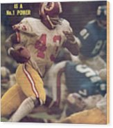 Washington Redskins Larry Brown... Sports Illustrated Cover Wood Print