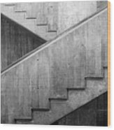 Washington University Eliot Hall Stairway Wood Print