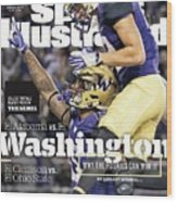 Washington Why The Huskies Can Win It, 2016 College Sports Illustrated Cover Wood Print