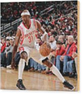Washington Wizards V Houston Rockets Wood Print