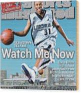 Watch Me Now Sebastian Telfair Sports Illustrated Cover Wood Print