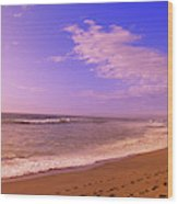 Waves On The Beach, North Beach, Point Wood Print
