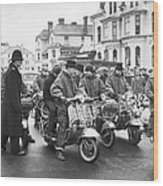 We Are The Mods Wood Print