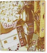 Weathered In Nostalgia Wood Print
