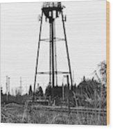 Weldwood Water Tower Wood Print