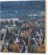 Wenatchee In November Wood Print