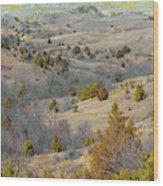 West Dakota Hills Reverie Wood Print