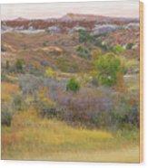 West River Autumn Reverie Wood Print