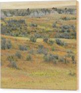 Western Edge September Reverie Wood Print