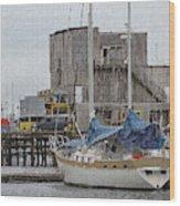 Westport Docks Wood Print
