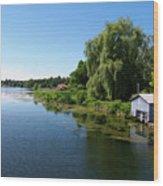 Westport Harbour On Upper Rideau Lake Wood Print