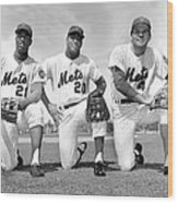 What Could Be The New York Mets Wood Print