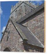 Whimple Church Wood Print